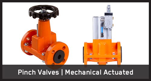 Pinch Valves | Mechanical Actuated