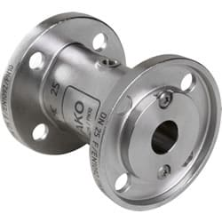 ANSI and DIN Flanged Pinch Valve