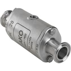 Sanitary Tri-Clamp Connection (Triclover™) Pinch Valve
