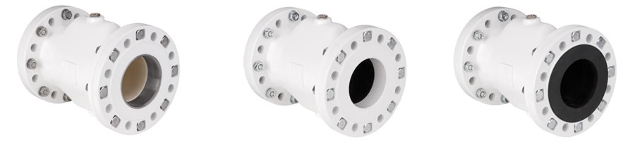 VF Aluminum and Stainless Steel Air Pinch Valves