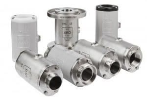 VMC Aluminum and Stainless Steel Air Pinch Valves