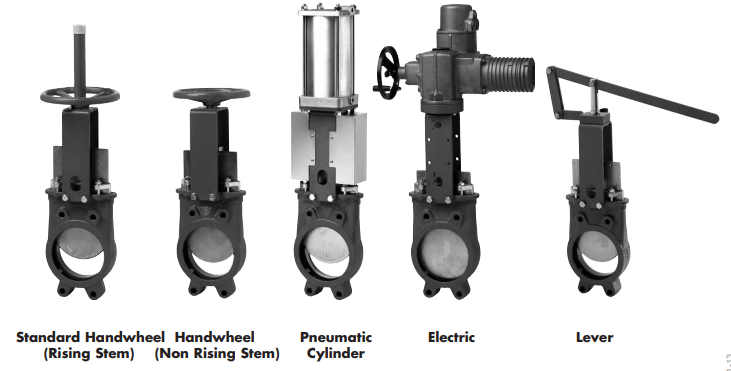 Type A Knife Gate Valves