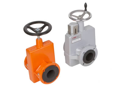 OV Mechanical Actuated Pinch Valves